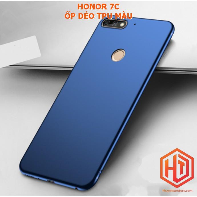 Huawei Honor 7C _ ỐP dẻo tpu màu mỏng cao cấp