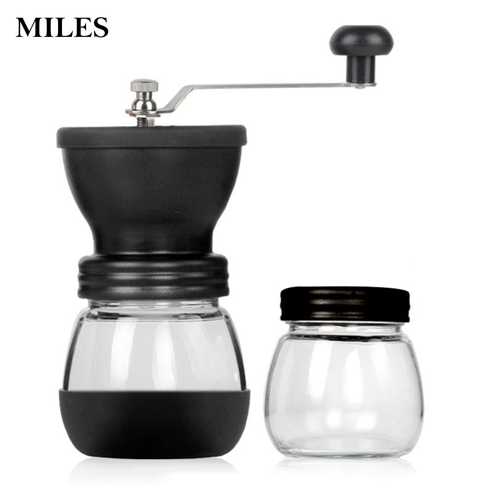Coffee Bean For Home Grinder  Adjustable Coarseness Portable With Burr Hot