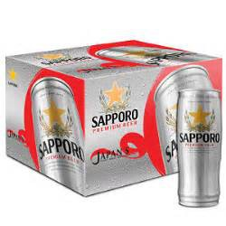 Thùng 12 Lon Bia Sapporo Premium (650ml)