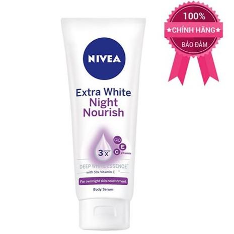 Serum dưỡng trắng da Nivea ban đêm 180ml