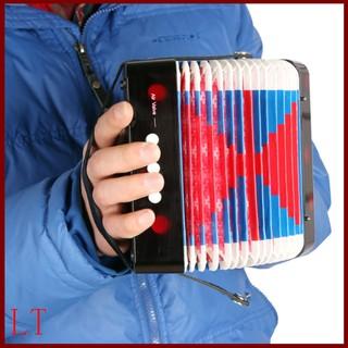 Nhạc cụ accordion Mini 7 phím 2 âm độc đáo