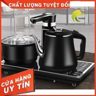 (cách nhiệt) Bộ bếp điện đun nước pha trà hoàn toàn tự động cảm ứng 100%