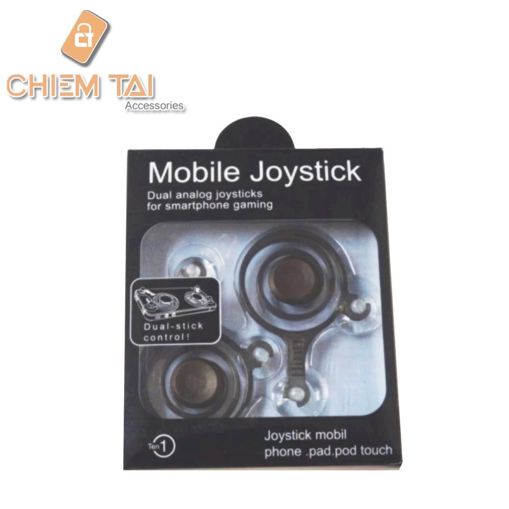 Bộ Joystick fling mini hỗ trợ chơi game trên smartphone (1 bộ)