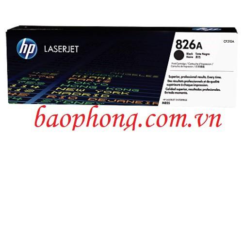 Hộp mực laser màu HP-826A Black (CF310A) A3 dùng cho máy in HP M855DN
