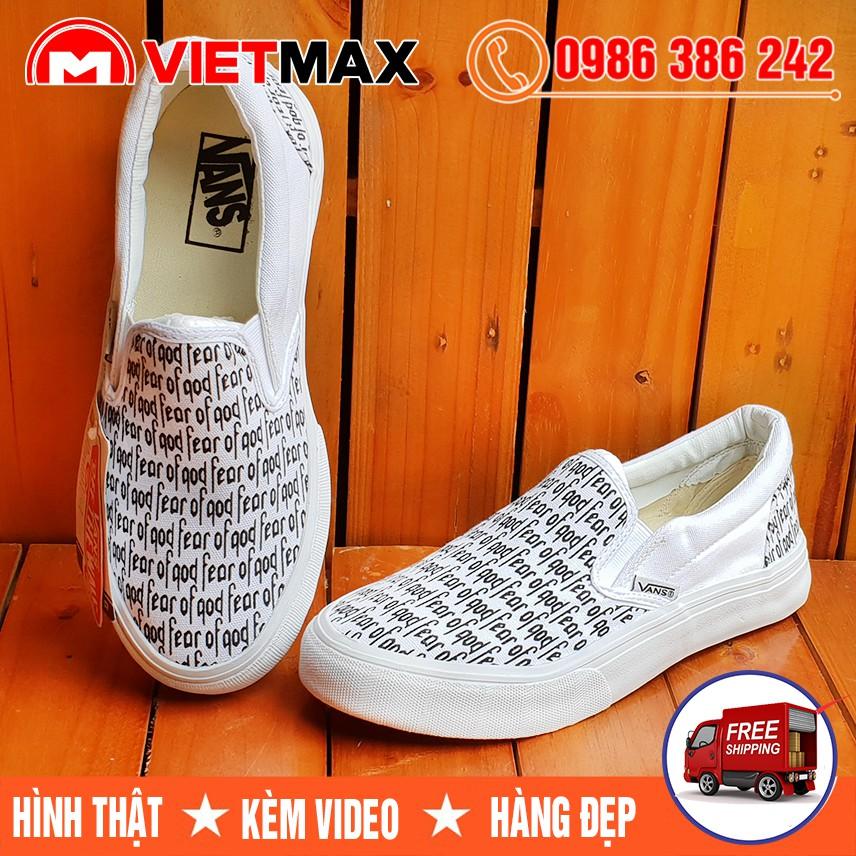 ⚡[FREE SHIP] Giày Vans Lười Slip On X Fear of God (Fog) Chữ Trắng Hàng Việt Nam - 3572150 , 1249203548 , 322_1249203548 , 100000 , FREE-SHIP-Giay-Vans-Luoi-Slip-On-X-Fear-of-God-Fog-Chu-Trang-Hang-Viet-Nam-322_1249203548 , shopee.vn , ⚡[FREE SHIP] Giày Vans Lười Slip On X Fear of God (Fog) Chữ Trắng Hàng Việt Nam