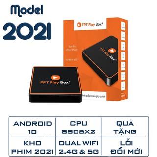 FPT play box 2020 - Android tivi box Android 10 - Điều khiện giọng nói - Tặng gói truyền hình FPT