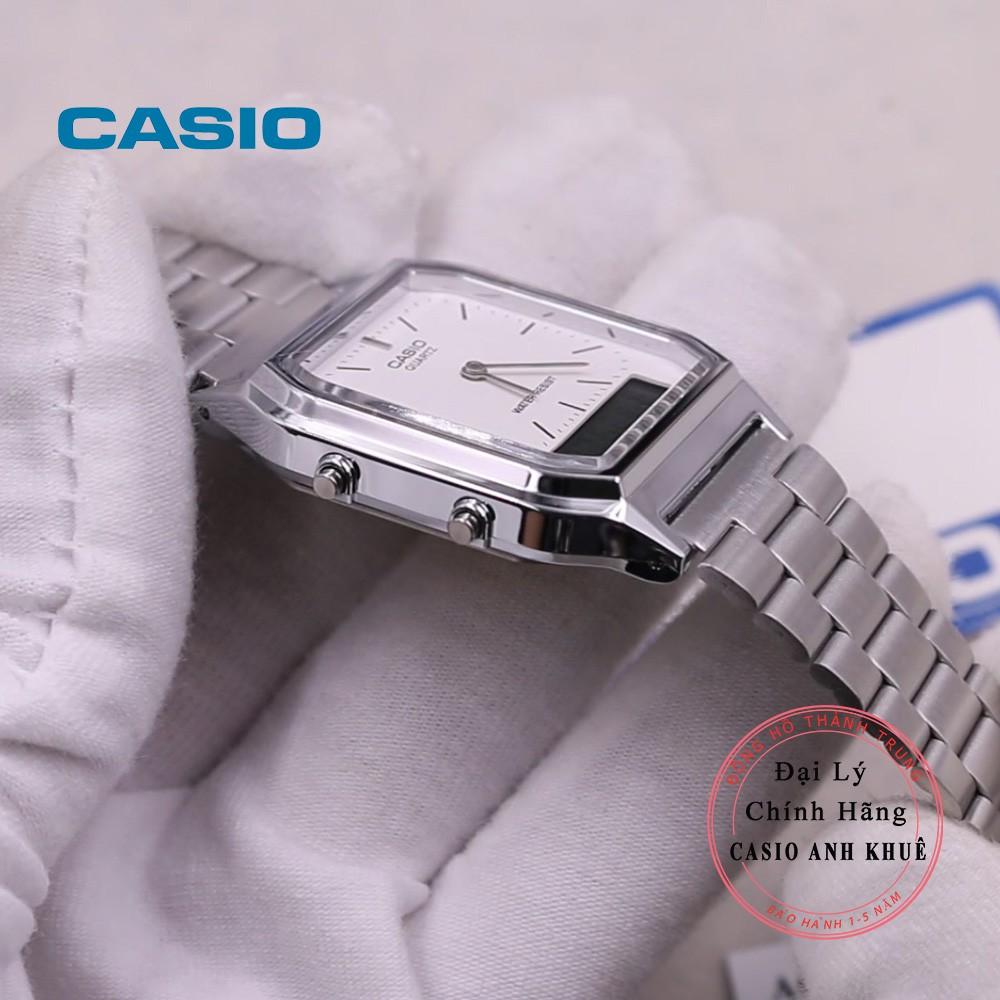 Đồng hồ Unisex Casio Vintage AQ-230A-7DHDF dây kim loại