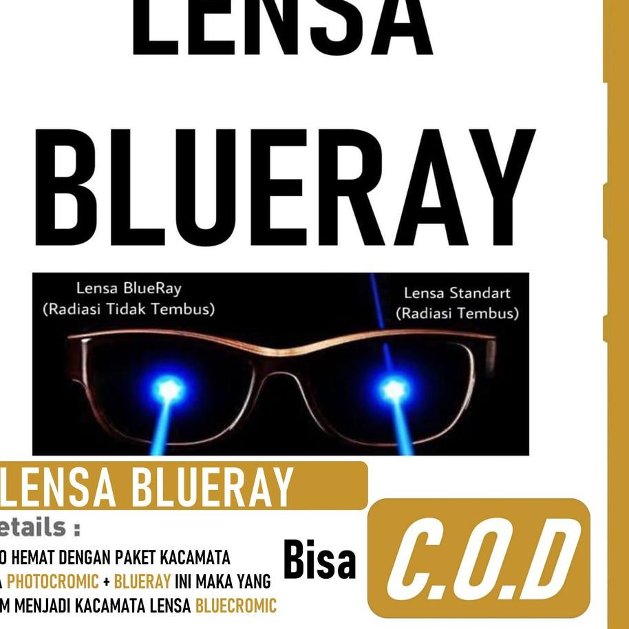 Giảm giá Ống kính BLUERAY ANTI Ray Blue Lens có thể lửa với PHOTOCROM