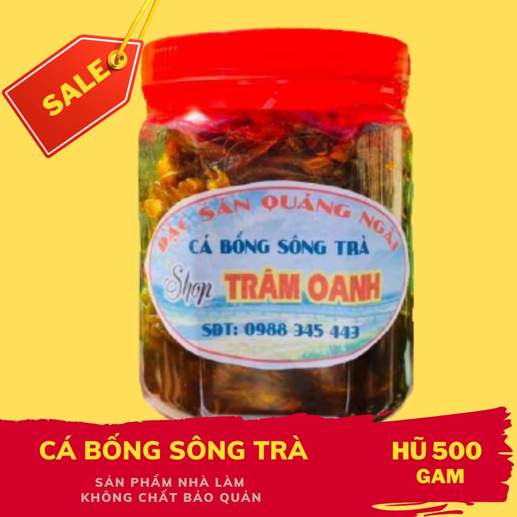 Cá Bống Sông Trà Đặc Sản Quảng Ngãi  loại 500gr Trâm Oanh