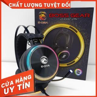 HÀNG CAO CẤP – Tai nghe Gaming EDRA EH412 PRO Pink / Black Led RGB – Hàng Cao Cấp
