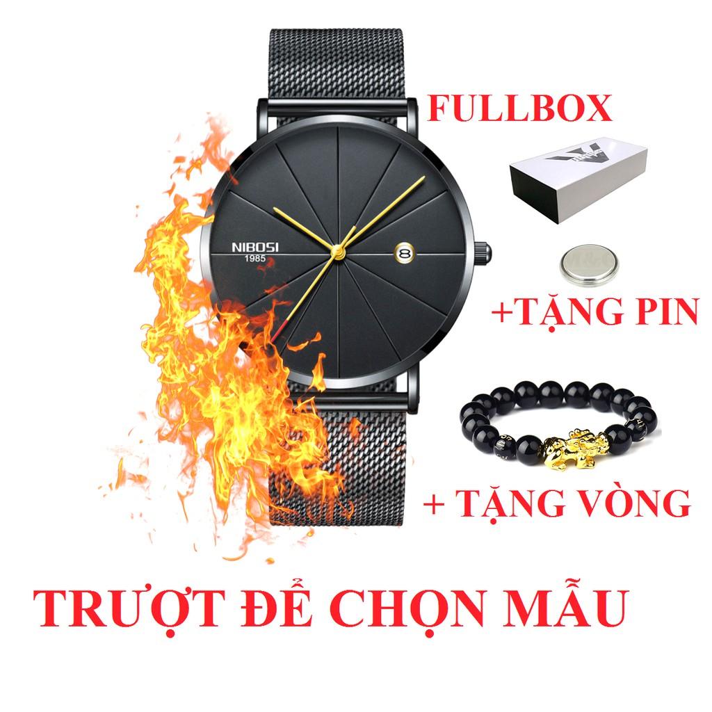 Đồng hồ nam nibosi 1985 chính hãng Fullbox tặng vòng tỳ hưu và pin - 3198209 , 803195916 , 322_803195916 , 1260000 , Dong-ho-nam-nibosi-1985-chinh-hang-Fullbox-tang-vong-ty-huu-va-pin-322_803195916 , shopee.vn , Đồng hồ nam nibosi 1985 chính hãng Fullbox tặng vòng tỳ hưu và pin