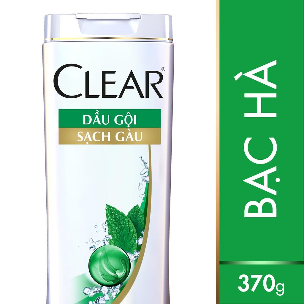 Dầu gội sạch gàu CLEAR Mát lạnh bạc hà 370g (MSP 67072184)