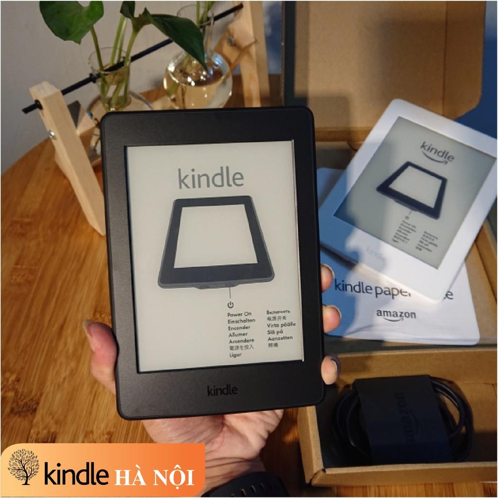 Máy đọc sách Kindle Paperwhite Gen 3 (7th) có đèn nền với màn hình 6'' 300PPI sắc nét, bộ nhớ 4GB