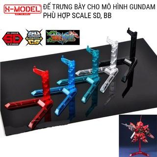 Đế trưng bày đồ chơi mô hình Gundam X-MODEL WS08 Action Base cho Mô Hình Gundam BANDAI SD, BB thumbnail