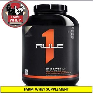 DEAL SÔC – Rule 1 Protein 5Lbs – Sữa tăng cơ Rule1 – Whey Protein R1