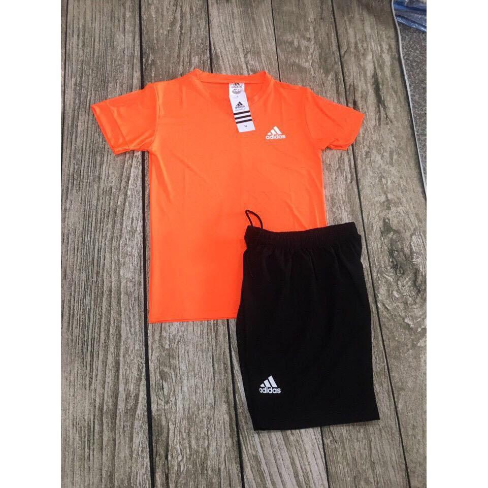 Bộ Quần Áo Thể Thao Nam Adidas Cao Cấp BATENO (Cam)
