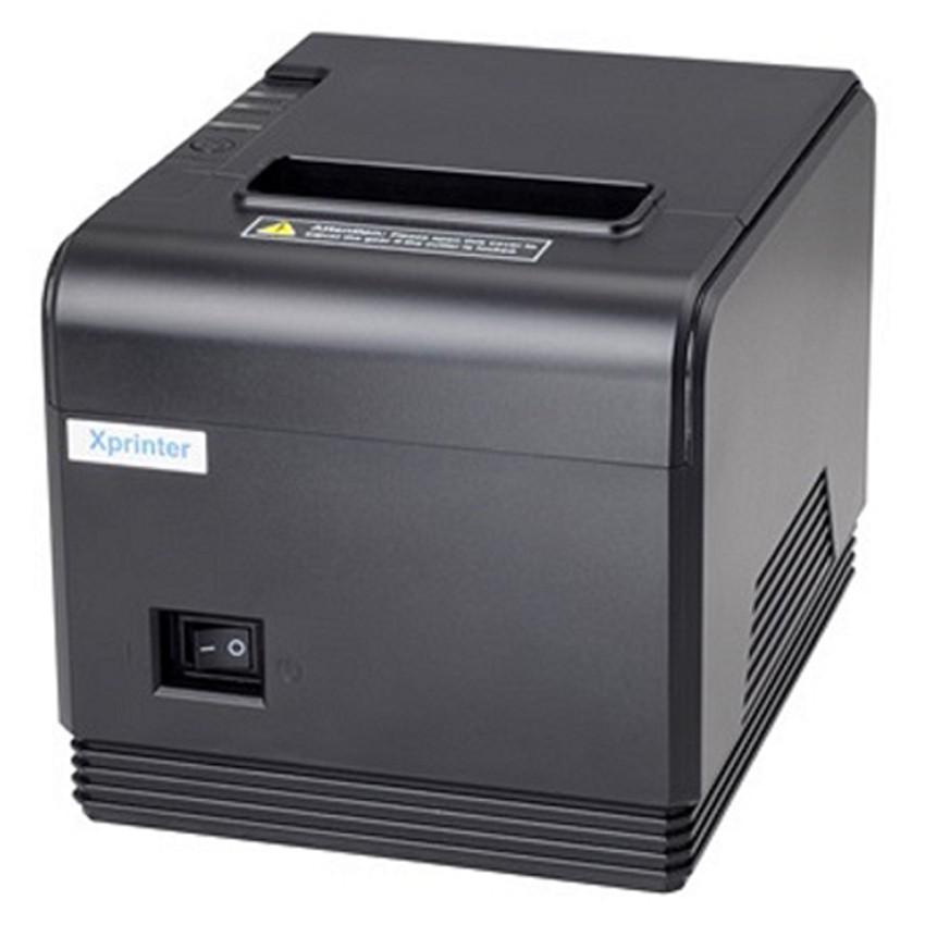 Máy in nhiệt Khổ Lớn XPrinter Q80i (Đen)