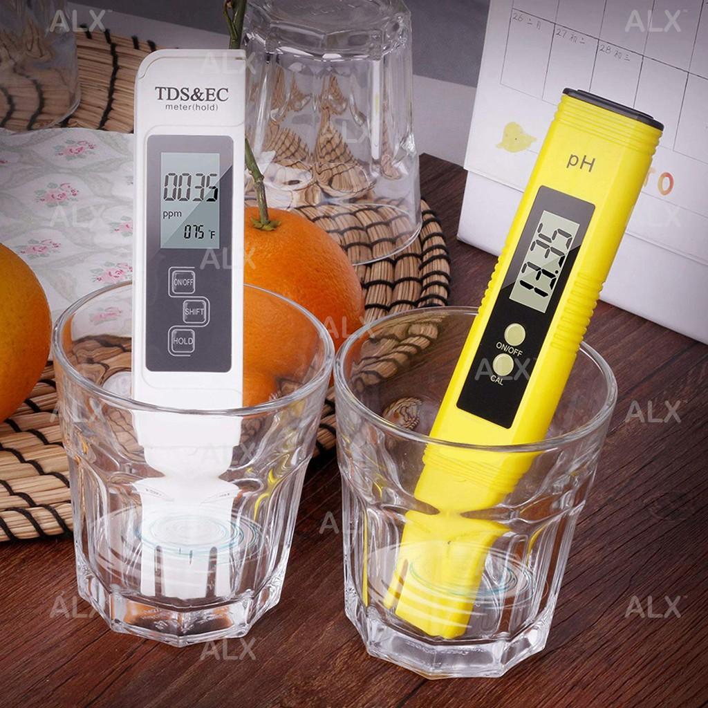 Bút đo độ pH/TDS kỹ thuật số với màn hình LCD