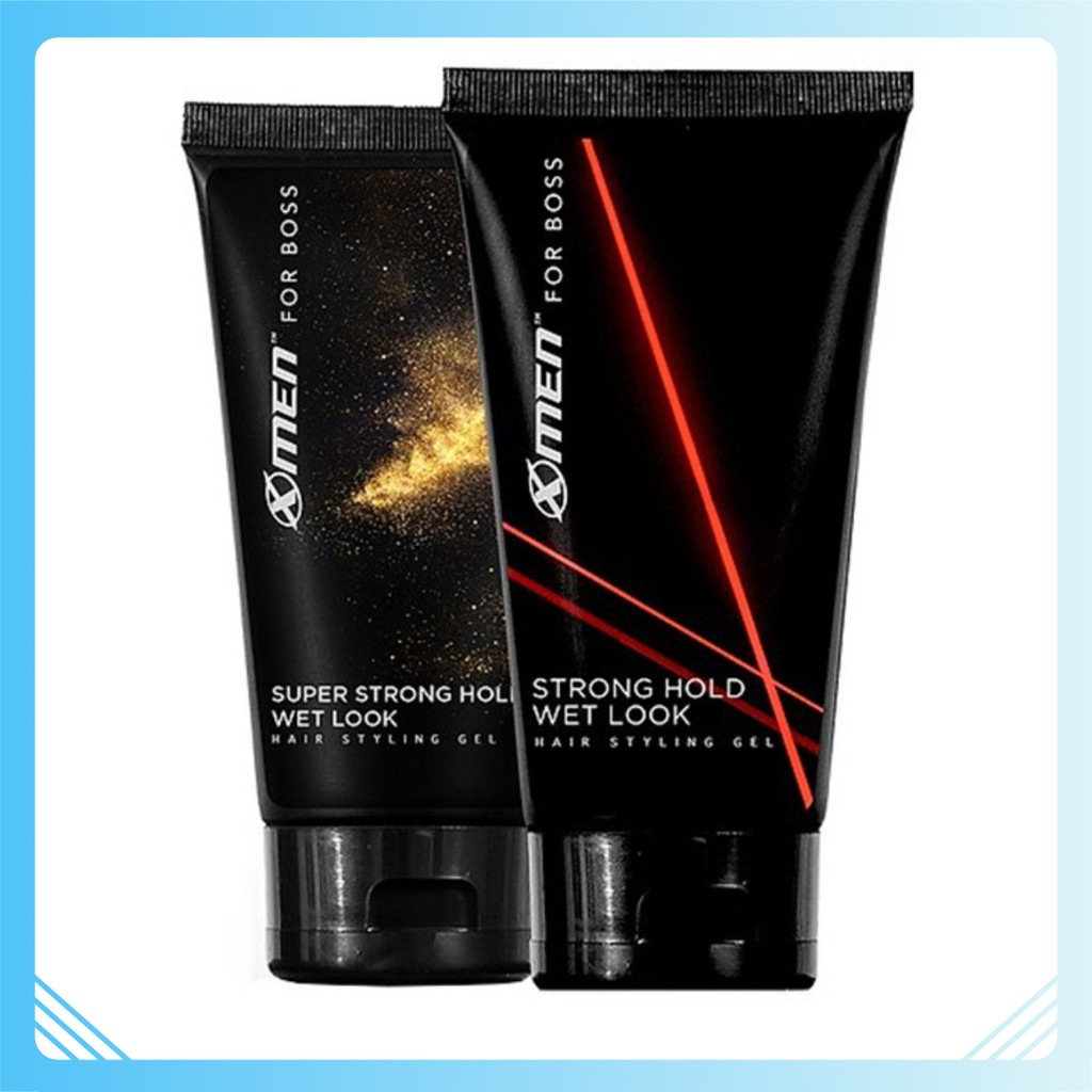 Combo 2 Keo vuốt tóc X-Men For Boss Gel Strong Hold Wet Look 150g + Super Strong Hold Natural Look 150g - 22192244 , 5306703851 , 322_5306703851 , 131100 , Combo-2-Keo-vuot-toc-X-Men-For-Boss-Gel-Strong-Hold-Wet-Look-150g-Super-Strong-Hold-Natural-Look-150g-322_5306703851 , shopee.vn , Combo 2 Keo vuốt tóc X-Men For Boss Gel Strong Hold Wet Look 150g + S
