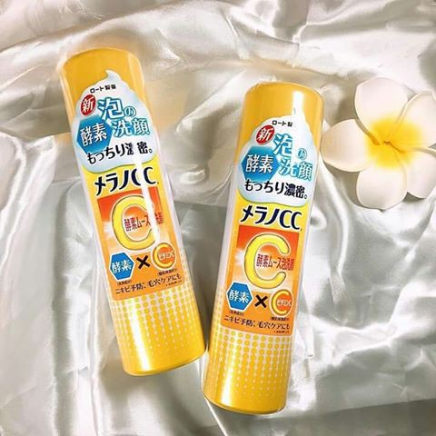 Sữa rửa mặt bọt Melano CC Enzyme Nhật Bản 150g
