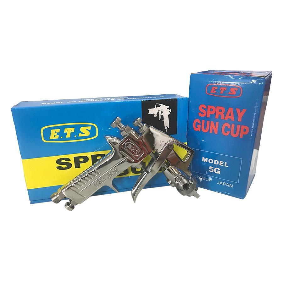 Dụng cụ phun sơn thương hiệu E.T.S H83 (400ml) (Tặng kèm bộ dụng cụ tháo ráp và vệ sinh).