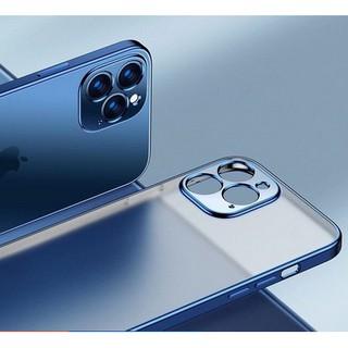 Ốp iphone 12 -Ốp lưng nhám viền mầu cho Iphone 11 đến 12 promax chính hãng Sulada cao cấp thumbnail