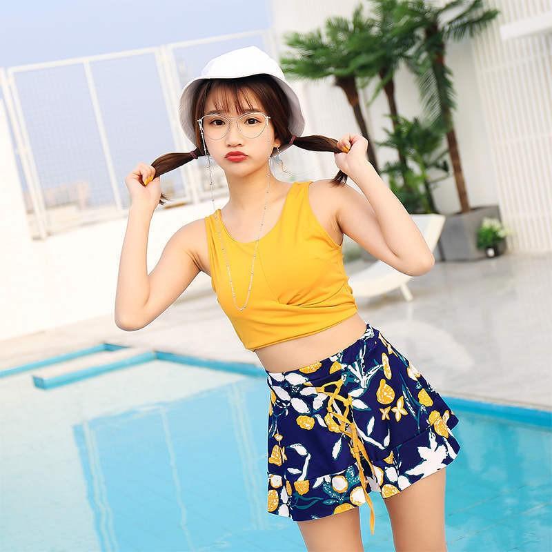 🍁 Bộ đồ bơi bikini hai mảnh 3 chi tiết đi tắm biển nữ mùa hè