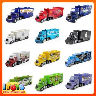 Mô hình xe Container Dài 21cm, mô hình ô tô tải cho trẻ em. Đồ chơi trẻ em ITOYS