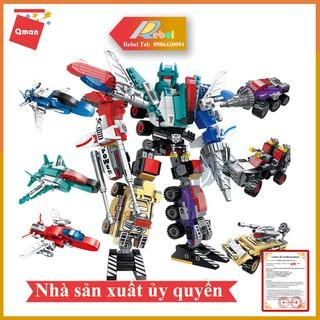 Bộ đồ chơi xếp hình lego QMAN 1412 – NGƯỜI MÁY HỢP KIM