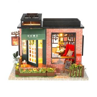 Mô hình nhà búp bê gỗ DIY – Century Bookstore – Hiệu sách trong mơ