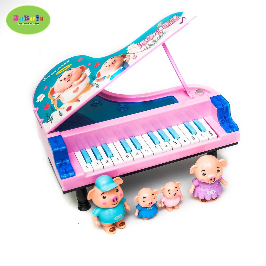 ĐÀN PIANO LỢN 18100113389-111 – ĐỒ CHƠI TRẺ EM BABUSU