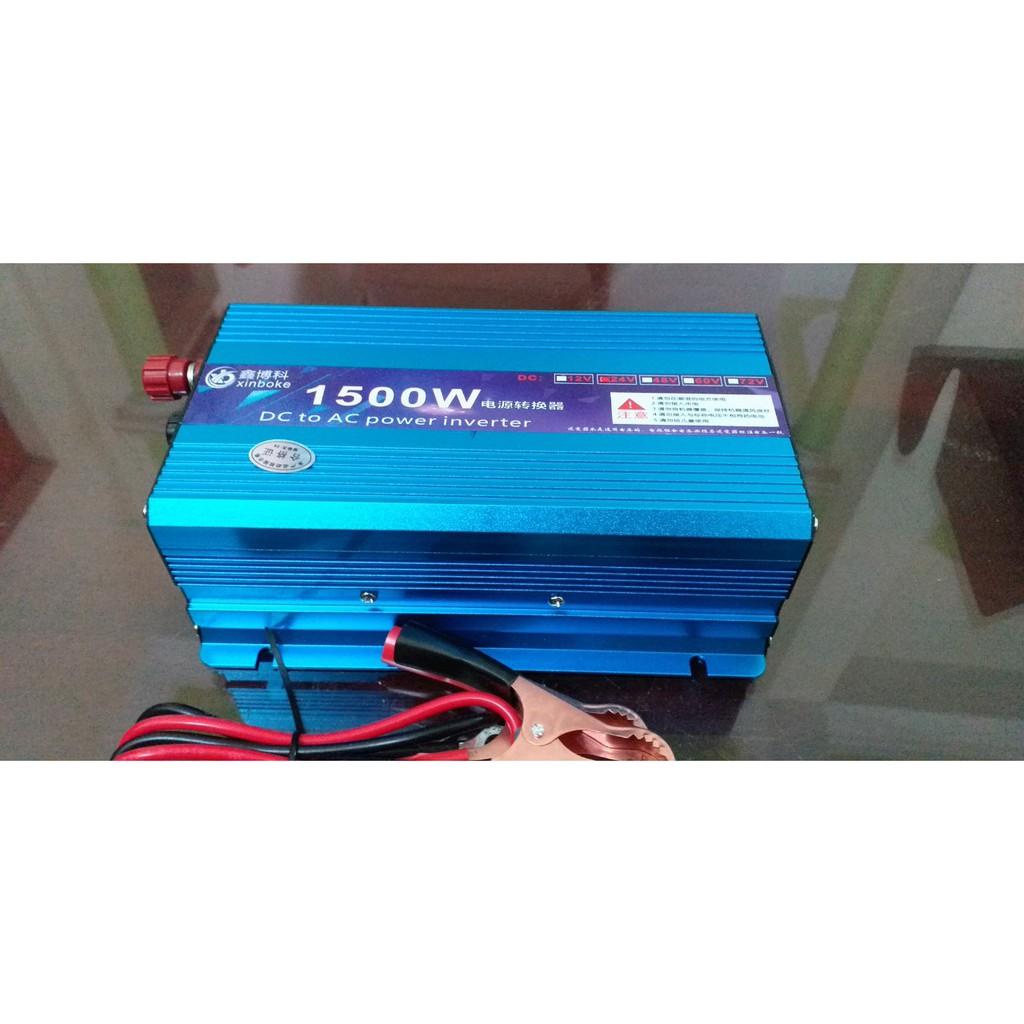 Bộ điện 24V lên 220V 1500W