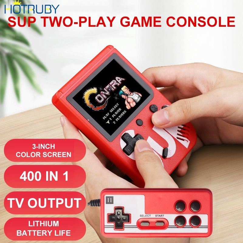 Handheld Game Console 300 Classic Games Color LCD Screen