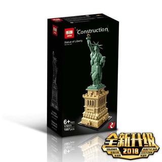 BỘ XẾP HÌNH LEGO TƯỢNG NỮ THẦN TỰ DO Elizabeth Lepin 17011 Statue Of Liberty