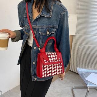 Túi xách nữ vuông kẻ caro phong cách Hàn Quốc TX39