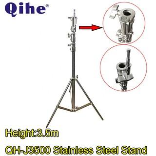 Chân Đèn Inox Qihe J3500 cao 3m5 tải 20kg