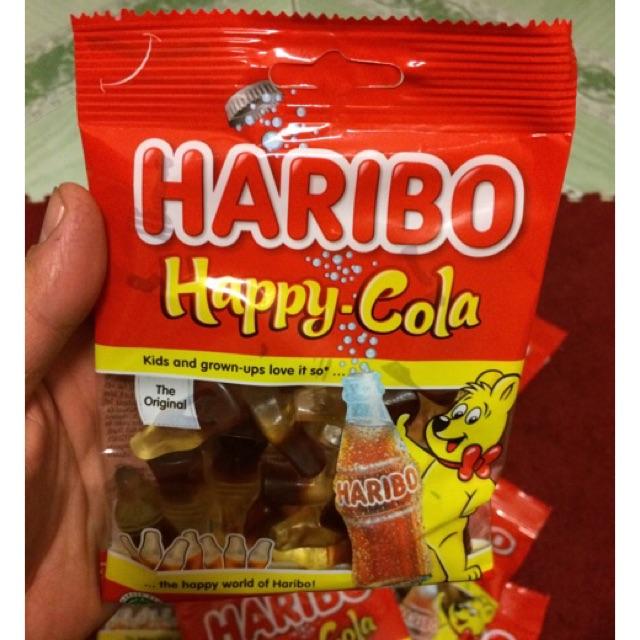 |Kẹo Dẻo Thái| Kẹo HaRiBo Happy-Cola 80g(Repice from Germany) - 2987974 , 797796778 , 322_797796778 , 27000 , Keo-Deo-Thai-Keo-HaRiBo-Happy-Cola-80gRepice-from-Germany-322_797796778 , shopee.vn , |Kẹo Dẻo Thái| Kẹo HaRiBo Happy-Cola 80g(Repice from Germany)