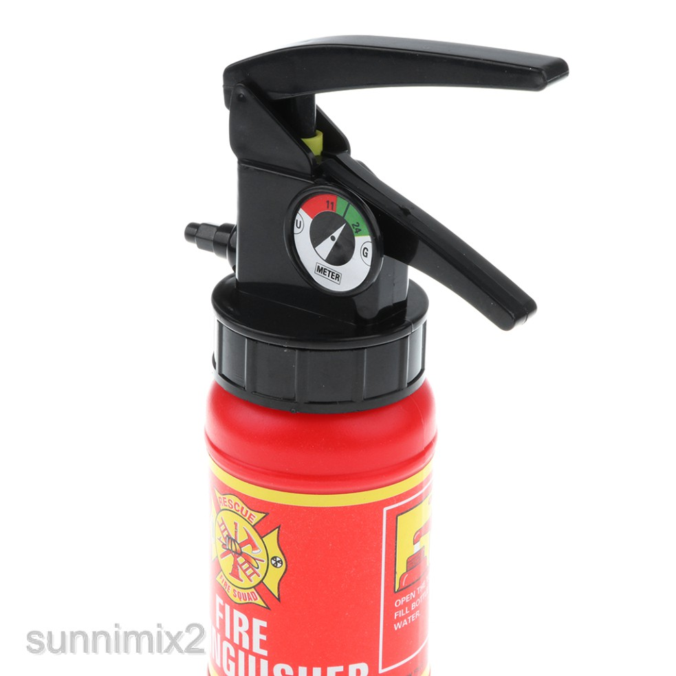Fun Fire Extinguisher Toy - Kid & Boy Fireman Role Playing Costumes Dress Up