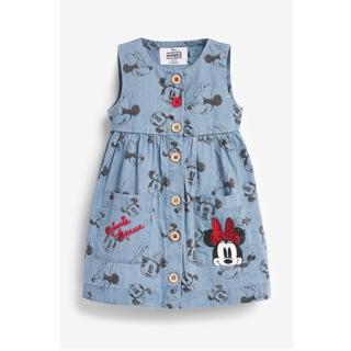 Váy bò mickey Next bé gái 2-7Y (có ảnh thật)