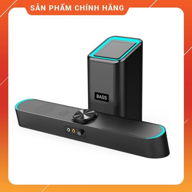 Loa Thanh Siêu Trầm Bluetooth Gaming Soundbar SADA D238 Hỗ Trợ BASS, Jack 3.5 Dùng Cho Máy Vi Tính PC, Laptop, Tivi