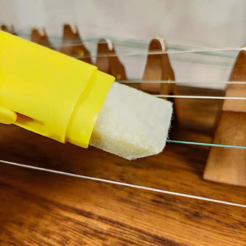 kem sáp đánh bóng dây đàn guzheng