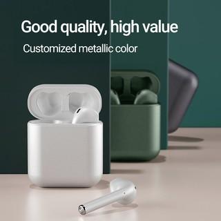 (COD) Tai nghe nhét trong thể thao không dây TWS Bluetooth 5.0 HIFI 16 màu, phù hợp với Android và iPhone