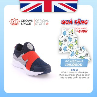 Giày Thể Thao Bé Trai Bé Gái Đi Học Siêu Nhẹ Crown Space UK Sport Shoes CRUK8024
