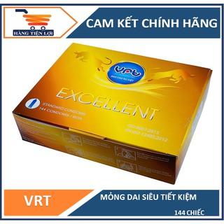 Bao cao su VRT Excellent hộp 144 cái - hàng Việt Nam chất lượng cao thumbnail