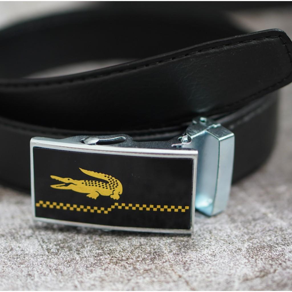 Thắt lưng dây nịt da nam GIÁ SỈ cao cấp - Quà tặng quý ông logo VIP Lascote