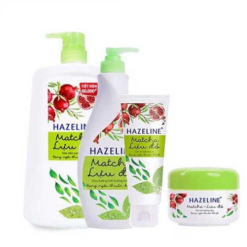 Combo bộ 4 sản phẩm dưỡng sáng da Hazeline Lựu Đỏ Matcha-Chính hãng - 2984156 , 985503349 , 322_985503349 , 272000 , Combo-bo-4-san-pham-duong-sang-da-Hazeline-Luu-Do-Matcha-Chinh-hang-322_985503349 , shopee.vn , Combo bộ 4 sản phẩm dưỡng sáng da Hazeline Lựu Đỏ Matcha-Chính hãng