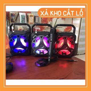 [Đổi trả 7 ngày] [NHÂP MÃ GIẢM GIÁ] Loa bluetooth karaoke Mini KTS-996C âm thanh to tặng kèm micro có dây