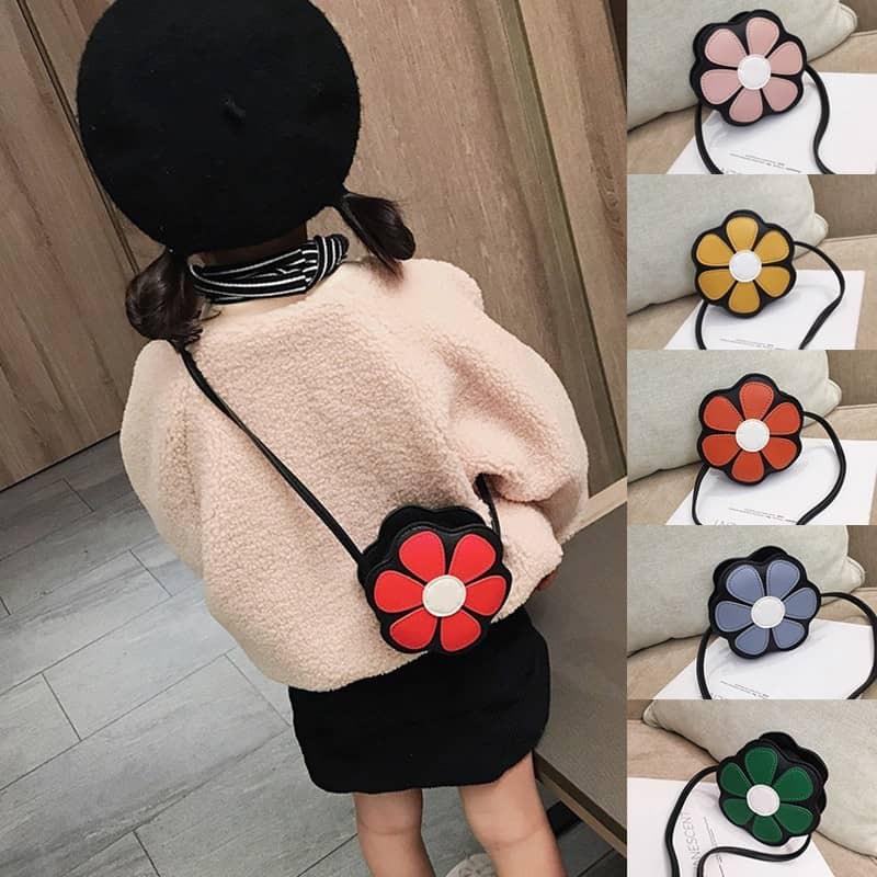 Túi Đeo chéo hình Hoa siêu xinh cho bé gái
