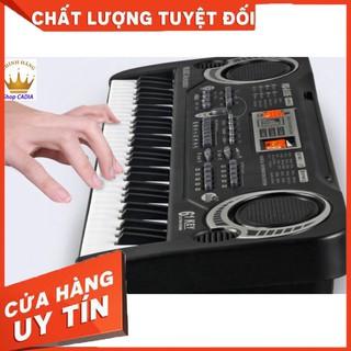 Đàn Piano Đàn Điện Tử 61 Phím Kèm mic Cho Bé Đàn Organ