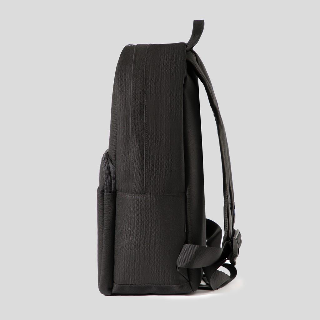"""Balo DIM Classic Backpack (Balo Đi Học, Vải Canvas Trượt Nước, Đựng Vừa Laptop 15"""", Ngăn Tối Ưu Đựng Đồ) – Màu Đen /"""
